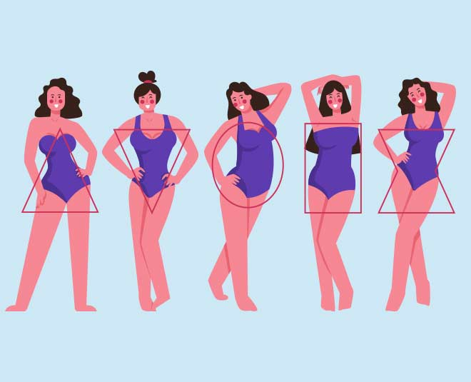 dresses according to body type