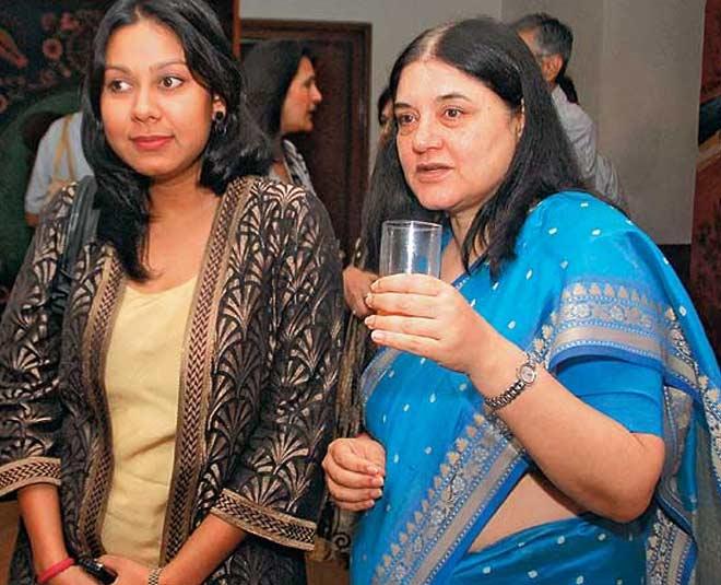 family varun gandhi wife