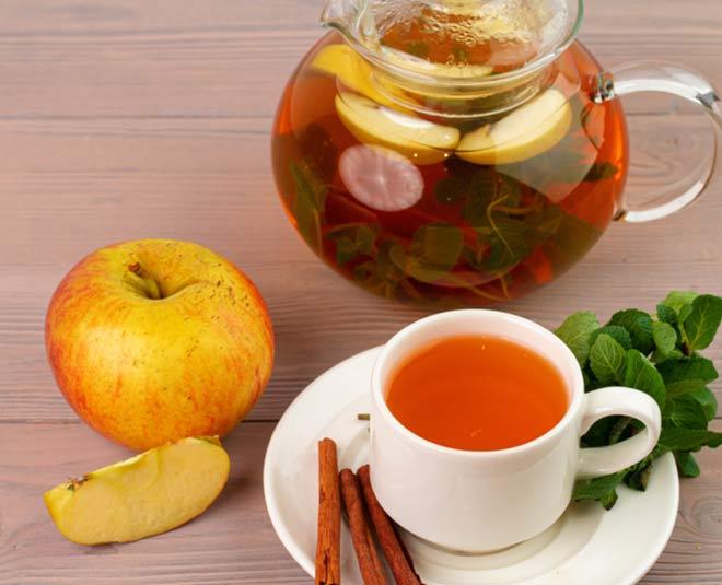 health benefits apple tea