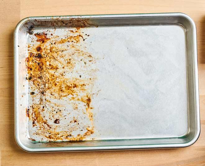 how do you clean sheet pans main