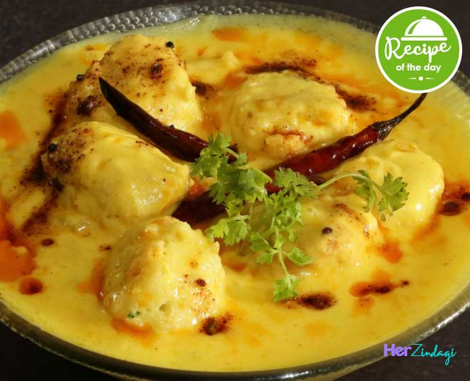 how to make moong dal kadhi