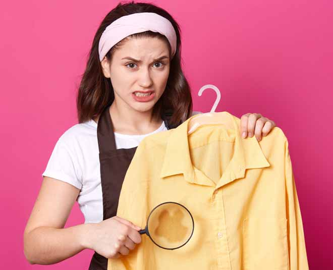 how to remove stains at home
