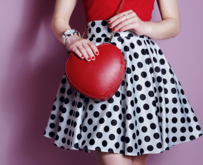 how to style polka dots m