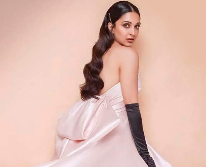 kiara advani in satin pink dress main