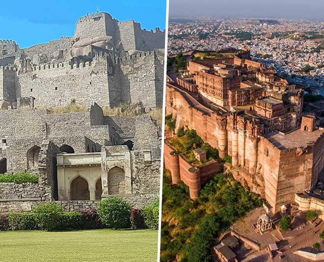know largest forts in india
