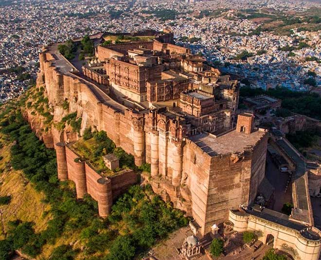 largest forts mehrangadh in india