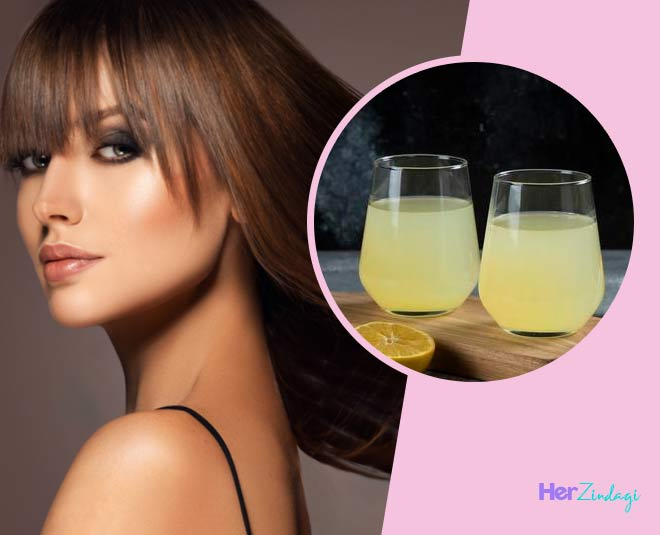 lighten your hair color with lemon