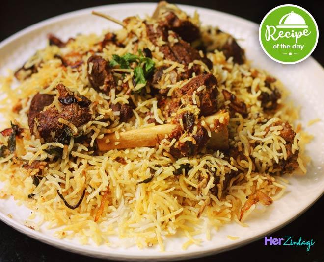 lucknowi mutton biryani recipe Main
