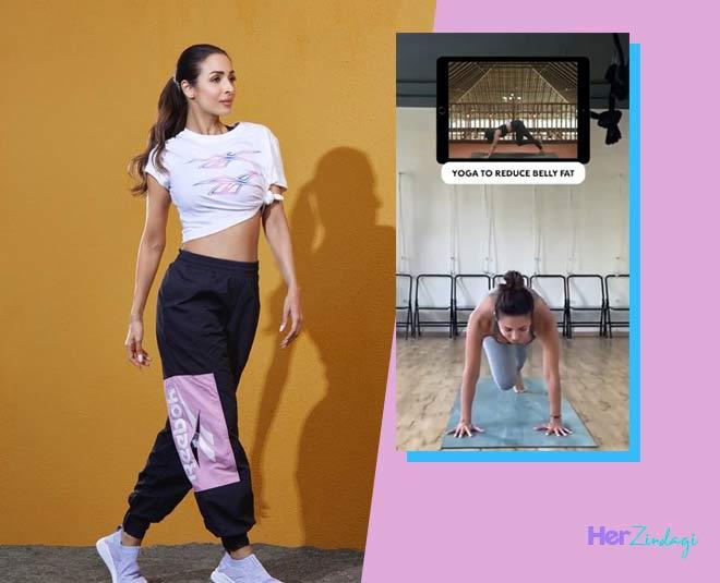 malaika arora fitness tips