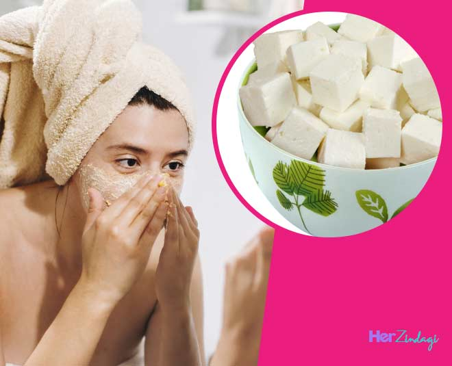 paneer face pack for glowing skin