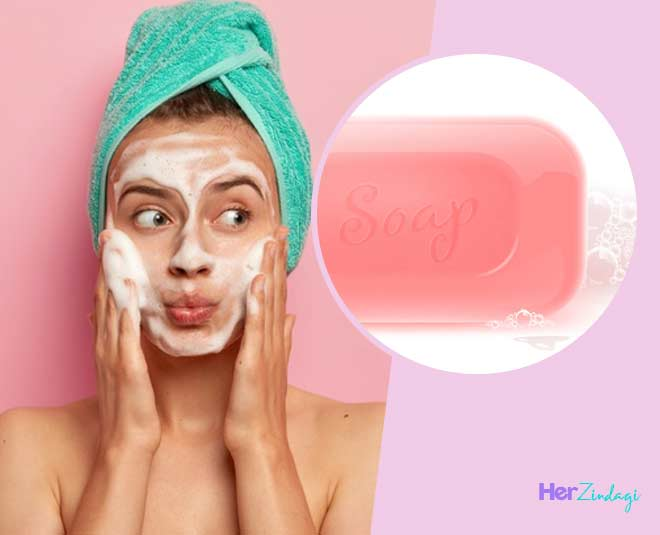 side effect of using soap face in hindi