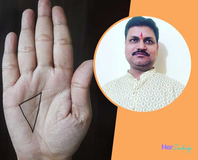 what  does  triangle  on  palm  mean