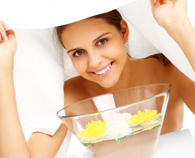 Oily Skin and steam facial