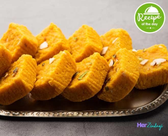 Sattu Ki Barfi Easy Recipe main