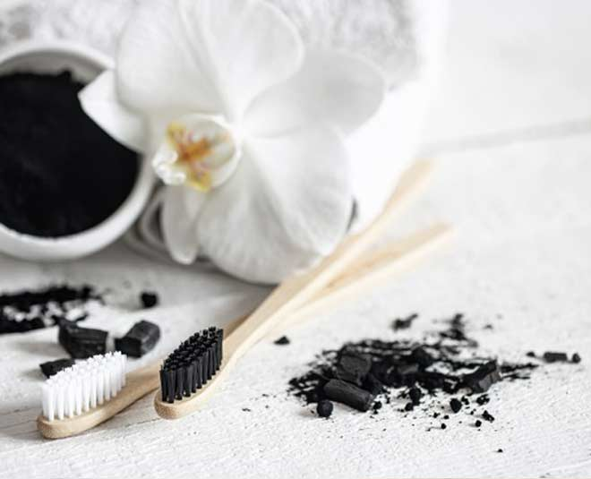 activated charcoal for teeth inside