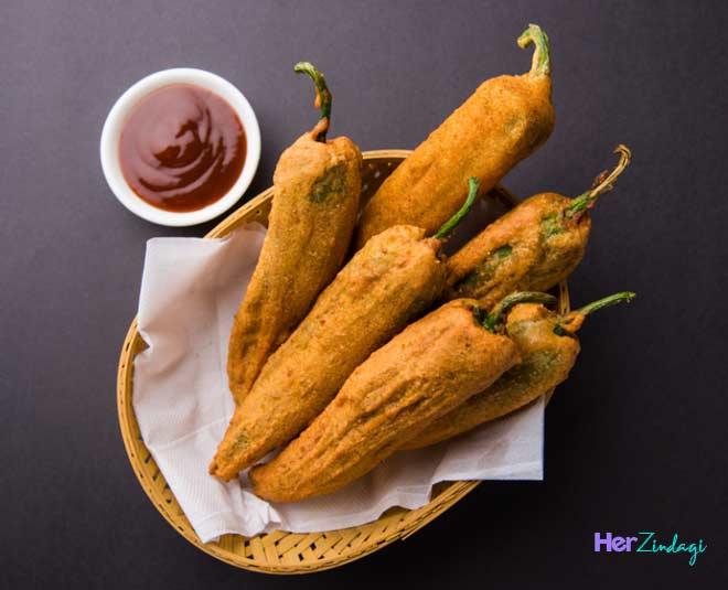 best mirchi pakoda recipes