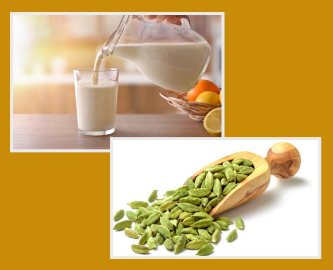 cardamom milk  health benefits tips