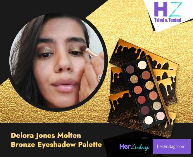 delora jones eyeshadow palette molten bronze detailed review