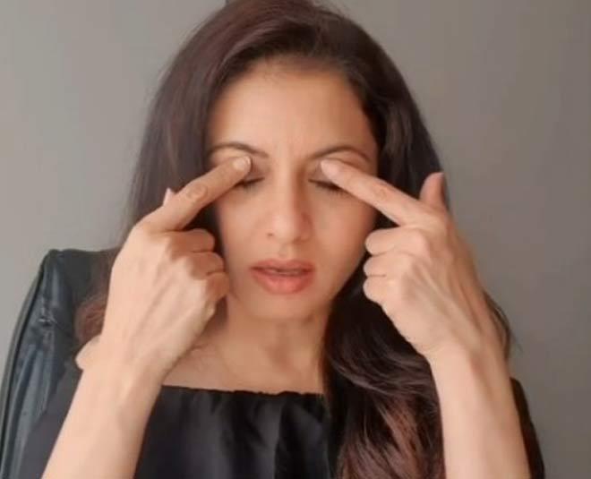 eye care exercise by bhagyashree inside