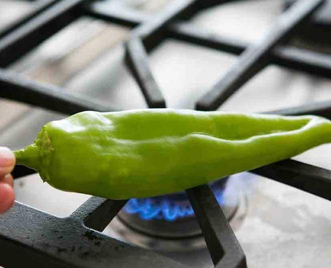 green chilli roasting www.worldcreativities.com