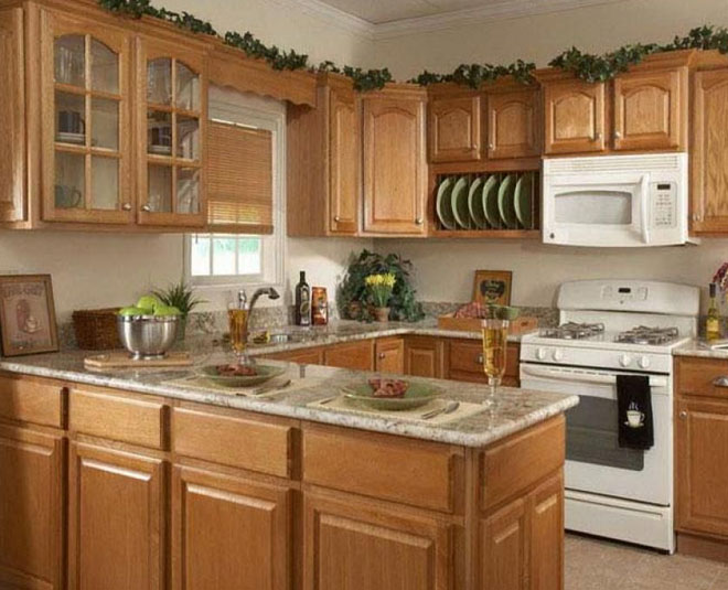 how to clean wooden cabinets in kitchen
