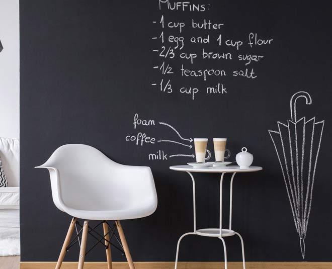 how to make chalkboard wallm