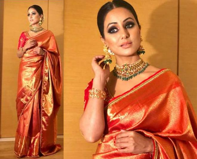 kanjivaram  silk  saree  styling  tips
