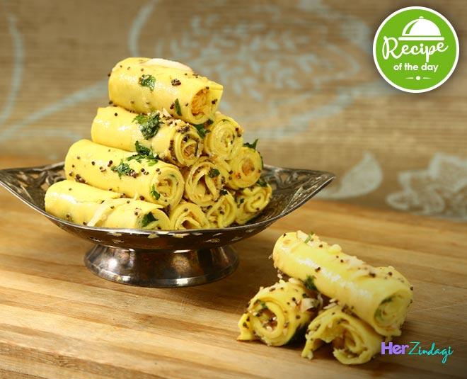khandvi recipe m