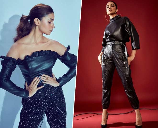 main Bollywood Actress black pant looks in hindi