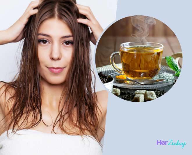 main Tea Water Benefits for hair in hindi