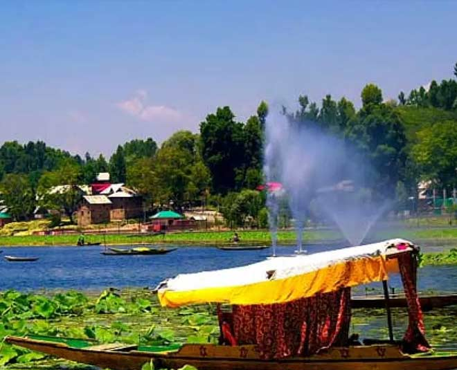 manasbal lake in jammu kashmir travel