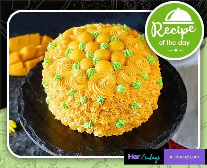 mango cake recipe at home