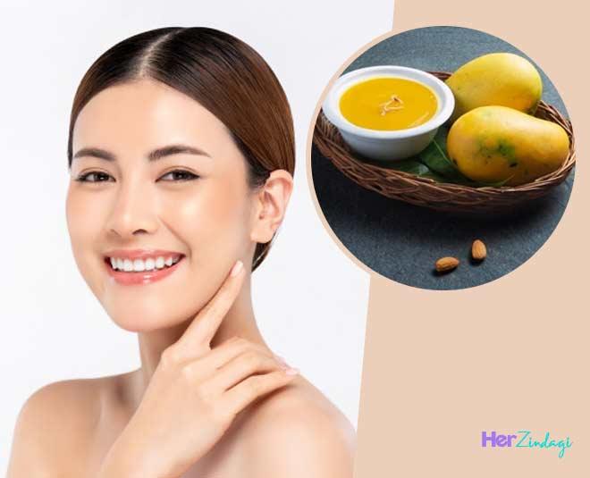 mango face packs benefits skin