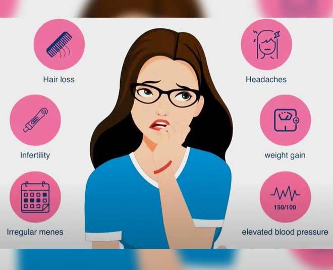 pcod symptoms insidde
