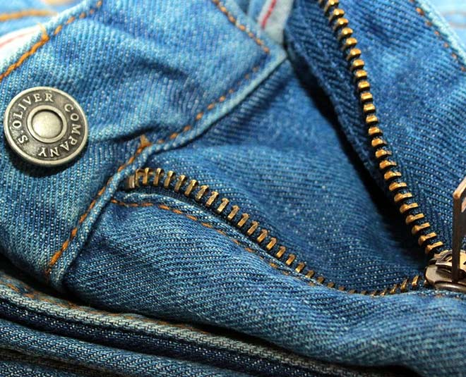 reason for front zipper in jeans