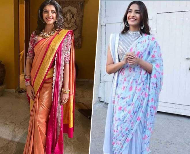 saree draping at home