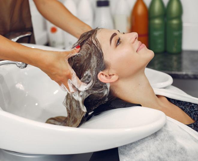 shampoo your hair