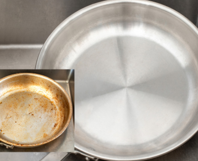 tips to clean dirty aluminum pans Main