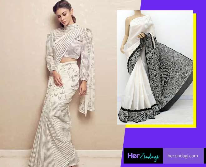 tricks to drape starched saree