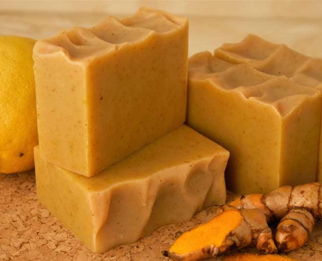 turmeric soap main