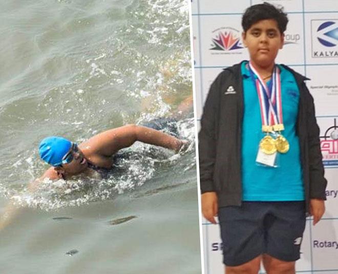 year old jiya rai who swam  km in sea