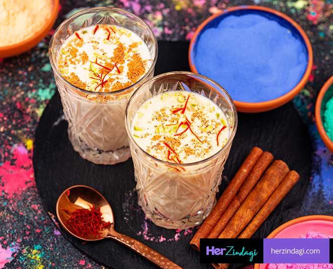 types of thandai recipe