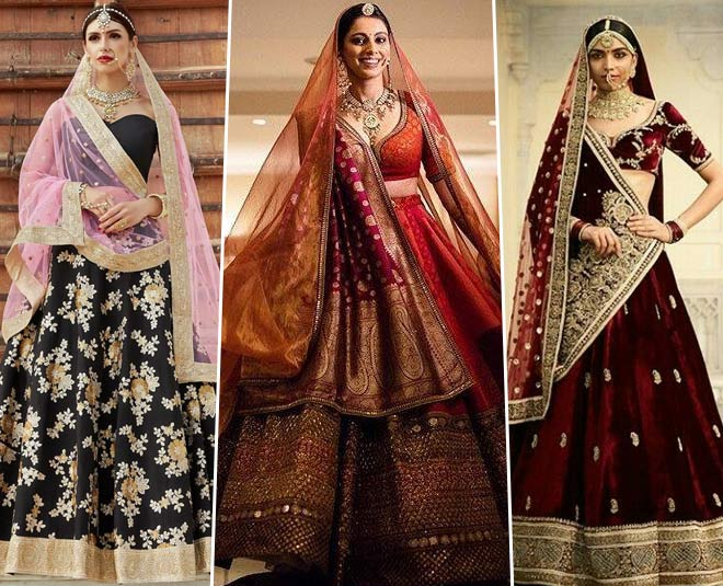 Colour Bridal Lehengas