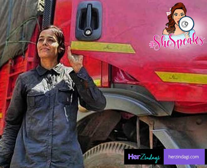India's First Woman Truck Driver
