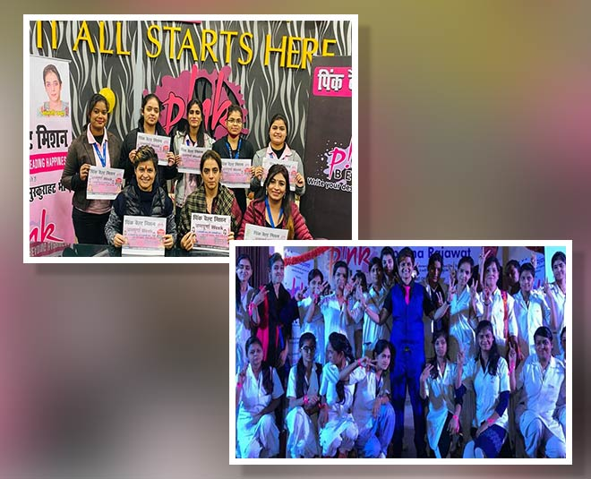about pink belt mission aparna rajawat