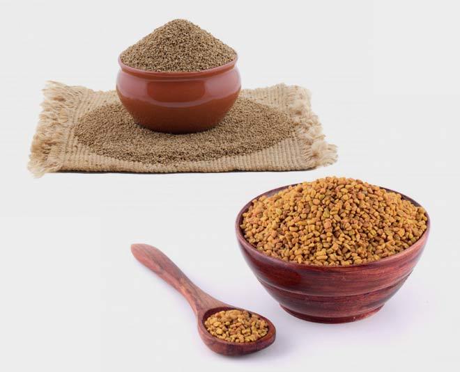 ajwain fenugreek seeds water weight loss pregnancy