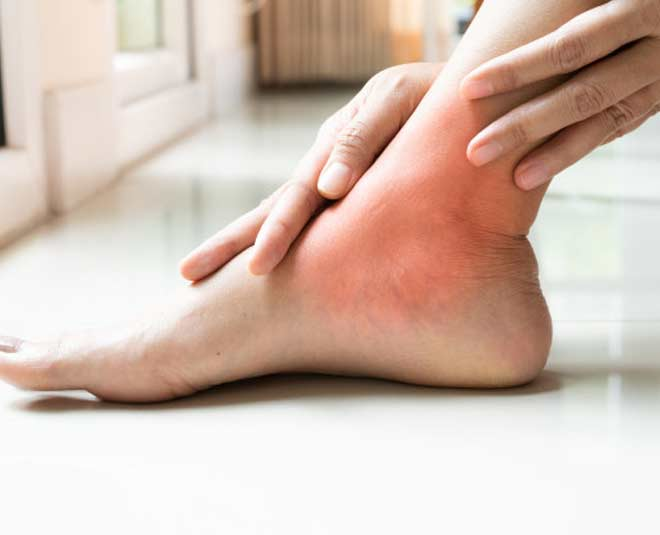 ankle pain while walking