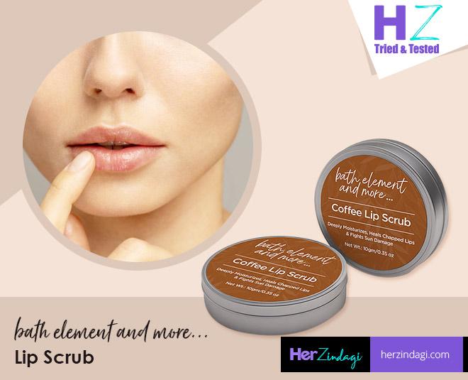bath element and more coffee lip balm lip scrub review detailed