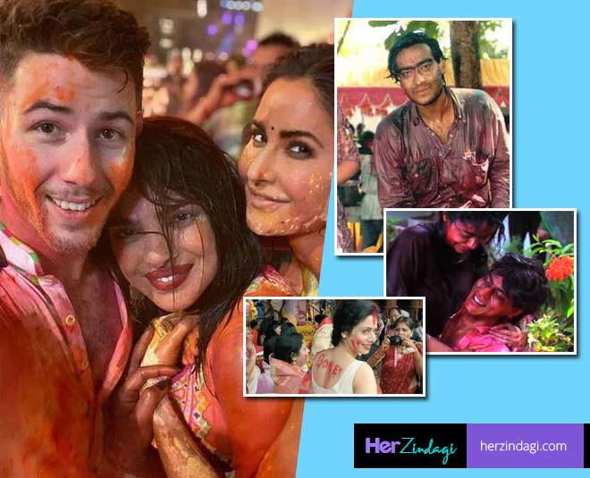 best and crazy holi parties of bollywood