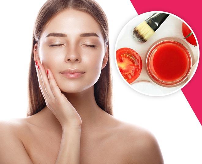 best uses of tomato for detan